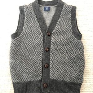 BabyGap winter knit vest with 4 buttons